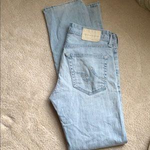 AG matchbox slim straight jeans 29